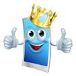 Mobile phone cartoon king