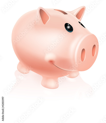 Piggy Bank Character