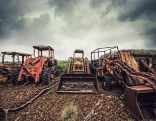 forgotten tractors