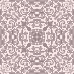 vector seamless lace pattern