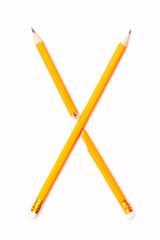 Alphabet symbol - letter X
