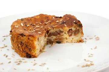 torta senza glutine e uvetta