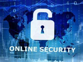 online security conceptual image