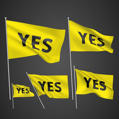 Yes -yellow vector flags