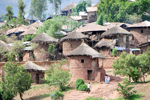 Leinwandbild Motiv Village of Lalibela