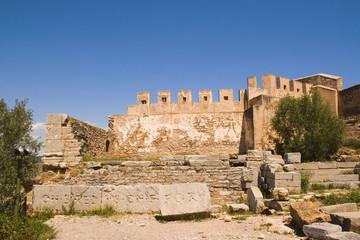ruinas romanas en Sagunto, España