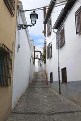 Barrio Albaicin. Granada. España.