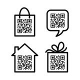 Pictograms with QR-cod