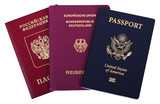 Triple Nationality - American, German & Russian