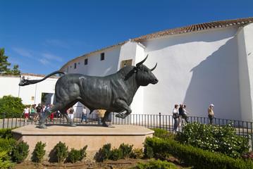 Plaza de toros de Ronda. Andalucia. España.
