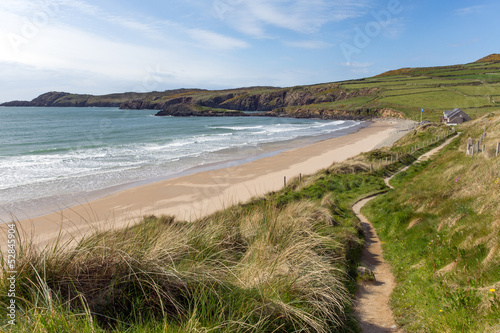 Wales Coast Path Whitesands Bay Pembrokeshire UK