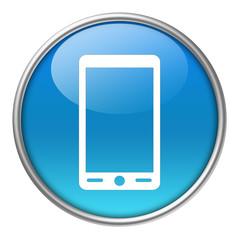 Bottone vetro smartphone