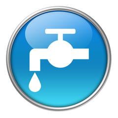 Bottone vetro rubinetto