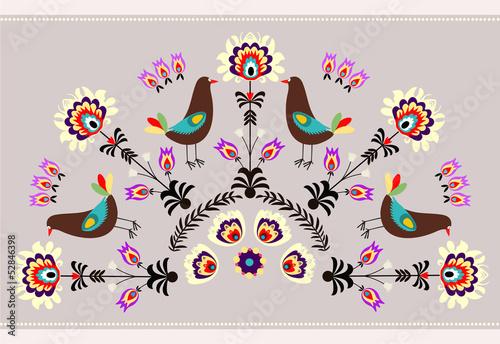 wzor-z-ptakami