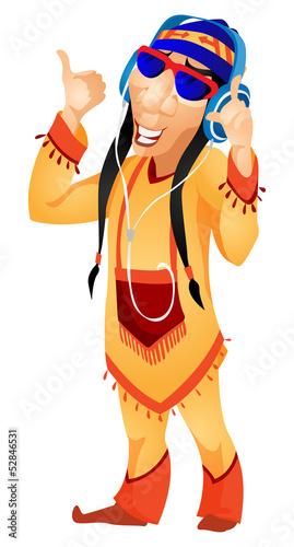 In de dag Indiërs Aborigine