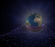 Erde Hülle Explosion