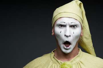 funny mime