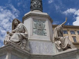 Roma, Monumento all'Immacolata (part.)