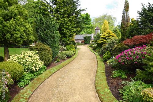 Staande foto Lente Beautiful spring garden