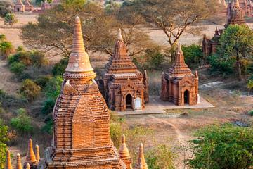 Two small pagodas