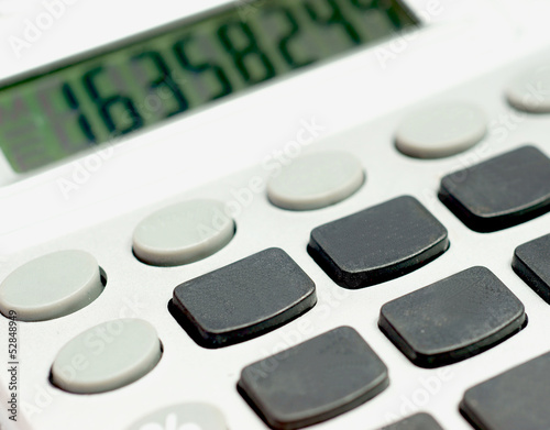 Calculator with no button numbers