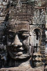 Bayon Smile Statue, Cambodia