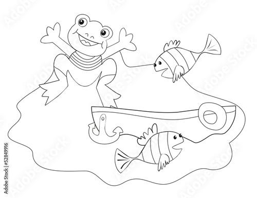 """""""u925bu7b46"""",""""u9b5a"""",""""u9ec3u8272""""]两栖动物动物卡图娱乐孩子"""