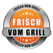 5 Star Button orange FRISCH VOM GRILL DTO DTO