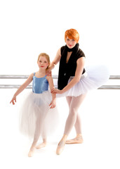 Student Learns Port Des Bras from Ballet Teacher
