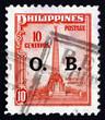 Постер, плакат: Postage stamp Philippines 1948 Bonifacio Monument