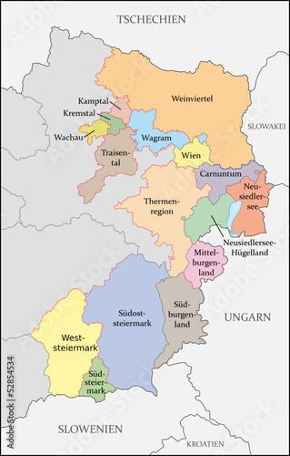 Weinbaugebiete Österreich