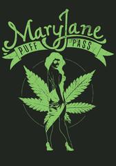 Mary Jane © Tshirt-Factory.com