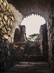 Roman amphitheater entry gallery