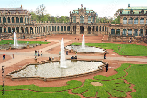 Zwinger - palace complex   in Dresden, Germany.