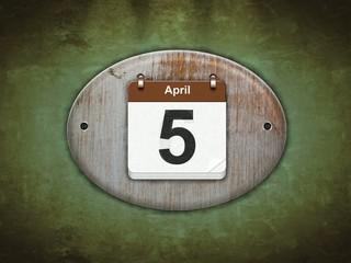 Abril.