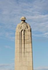 Canadian Brooding Soldier Memorial St Julien Ypres Belgium