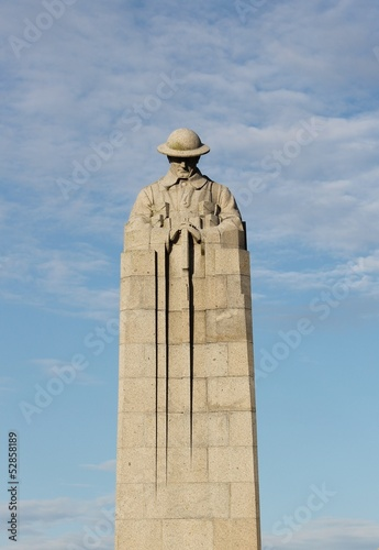 Canadian Brooding Soldier Memorial St Julien Ypres Belgium