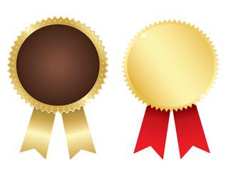 Gold awards. Vector