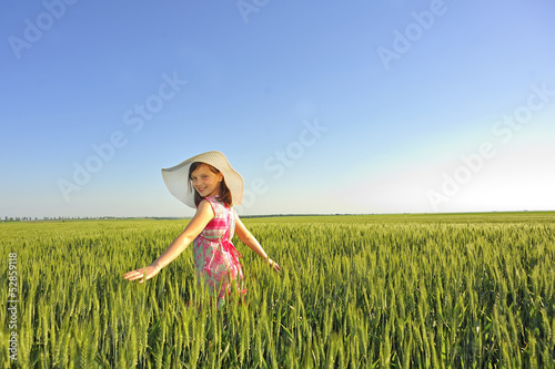 teen on field