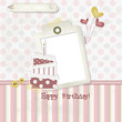 Happy Birthday - Scrapbook - Place your text and photo