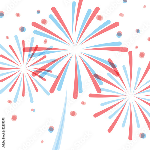 4th July: American fireworks