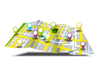 mapa callejero