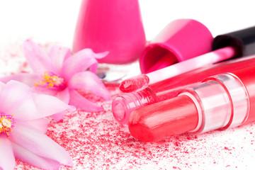 Pink Girly Make Up.