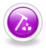 "Violet Icon ""Rock Collecting"""