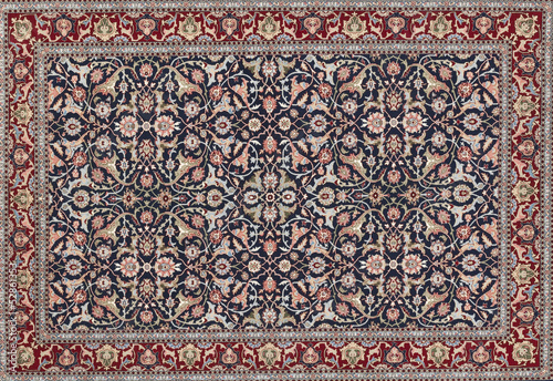 Leinwanddruck Bild turkish carpet