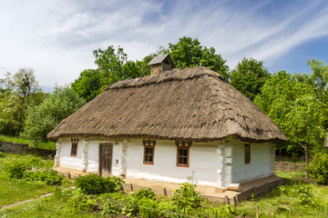 Ukrainian old farmhouse