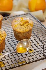 Orange Poppy Seed Cakes