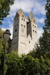 The Romanesque church in Dietkirchen an der Lahn, Germany