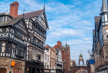 Chester, England, Eastgate clock