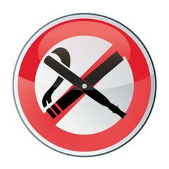 cigarette et e-cigarettes interdites